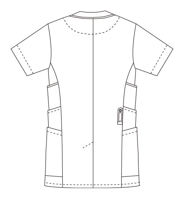 UN-0045 バックスタイルイラスト