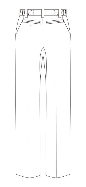 UN-0053 バックスタイルイラスト