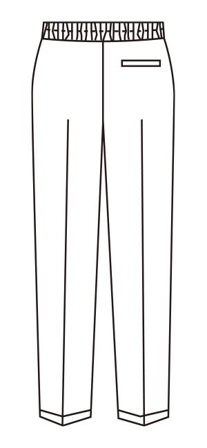 UN-0072 バックスタイルイラスト