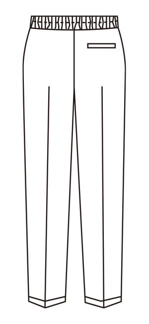UN-0073 バックスタイルイラスト