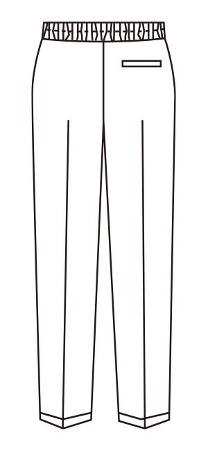 UN-0076 バックスタイルイラスト