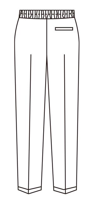 UN-0077 バックスタイルイラスト
