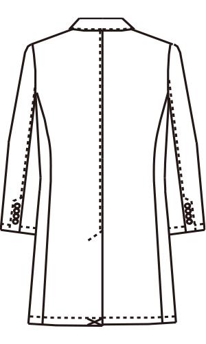 UN-0085 バックスタイルイラスト