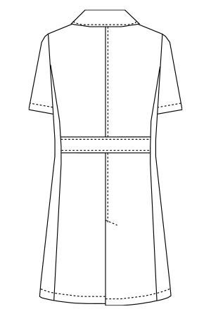 UN-0098 バックスタイルイラスト