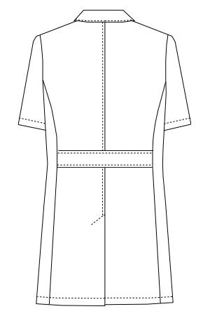 UN-0099 バックスタイルイラスト