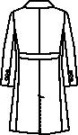 ユナイト/ミズノ女子ケーシージャケット半袖バックスタイル