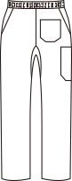 CH-MZ-0074 バックスタイルイラスト