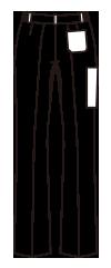 CH-UN-0033 バックスタイルイラスト