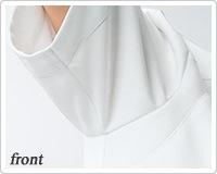 脇下ゴムで袖口の開きセーブ。