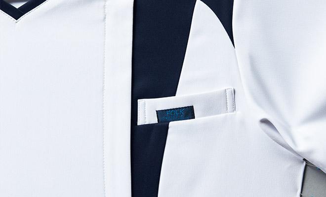 左胸箱ポケット