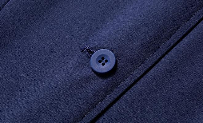 衝撃に強いカラーボタン