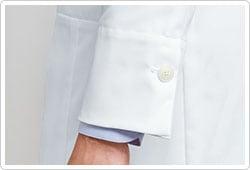一つボタンの袖