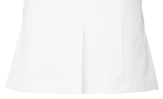 メンズの後ろ裾には動きやすさをサポートするベンツ入り。