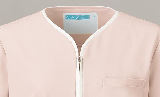 配色には高級感のあるサテン素材を使用。(ポリエステル100%)