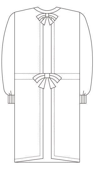 135-5 バックスタイルイラスト