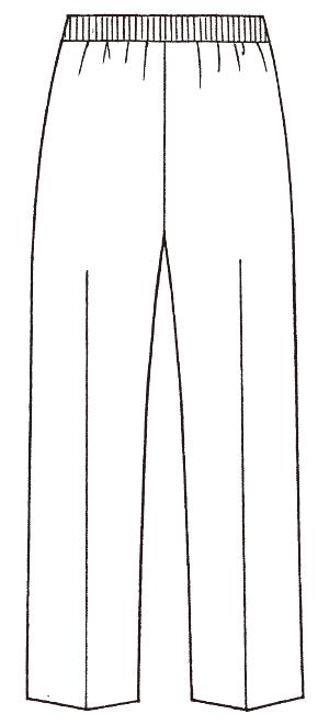 193-40 バックスタイルイラスト