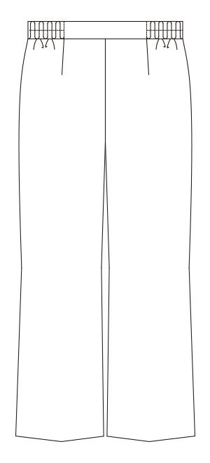 194-2 バックスタイルイラスト