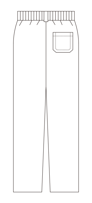 810-40 バックスタイルイラスト