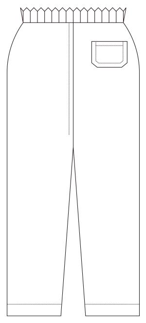 830-10 バックスタイルイラスト