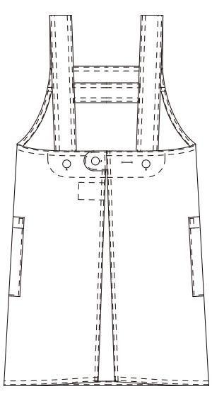 ANP917 バックスタイルイラスト