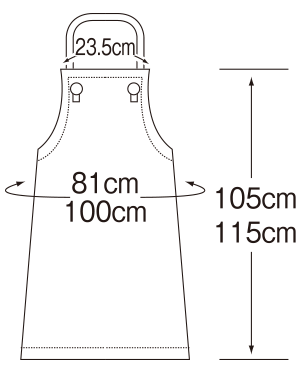 APK3142 寸法表フロント