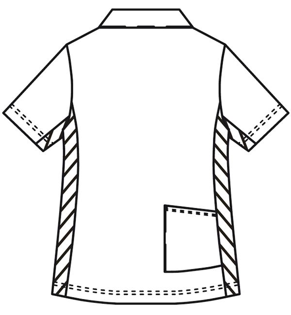 KZN217 バックスタイルイラスト