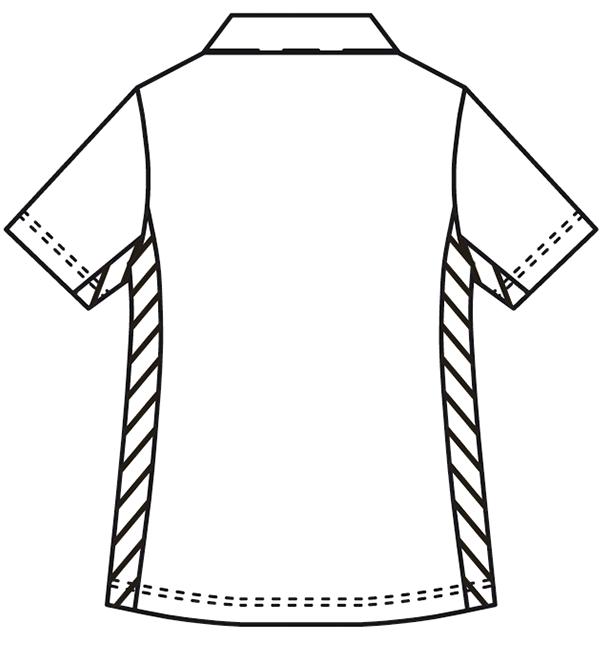 KZN218 バックスタイルイラスト