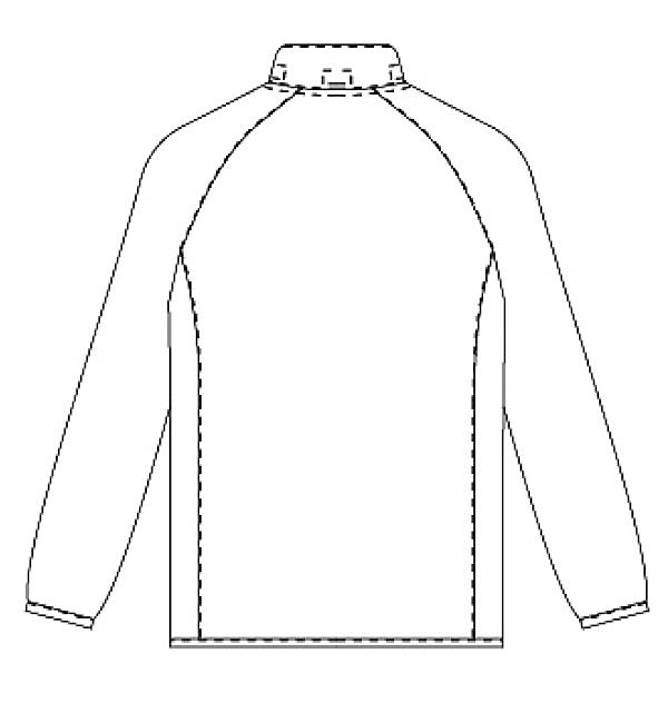 KZN244  バックスタイルイラスト