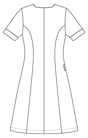 KZN321 バックスタイルイラスト