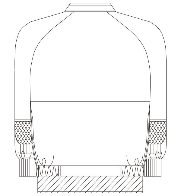KZN406 バックスタイルイラスト