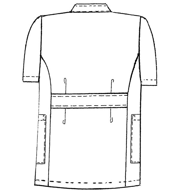REP100 バックスタイルイラスト