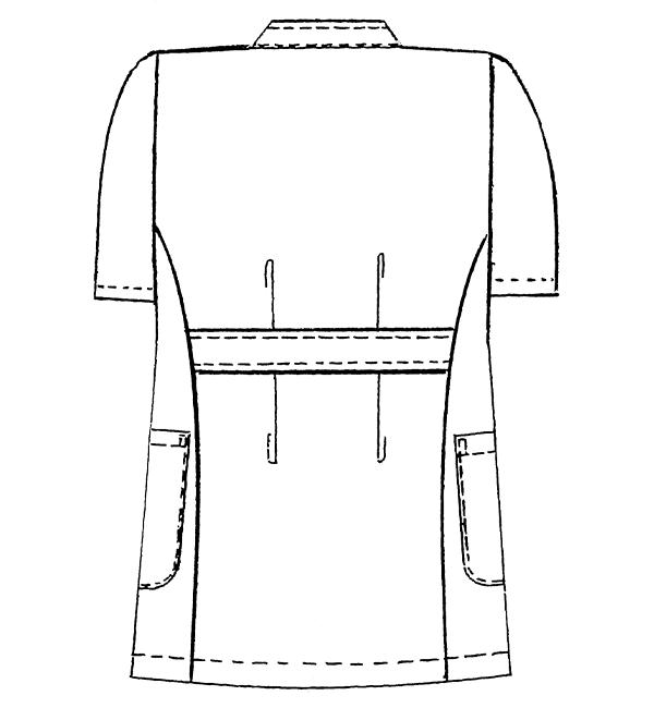 REP105 バックスタイルイラスト