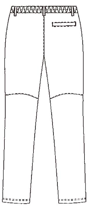 SMS508 アディダスメンズパンツバックスタイル