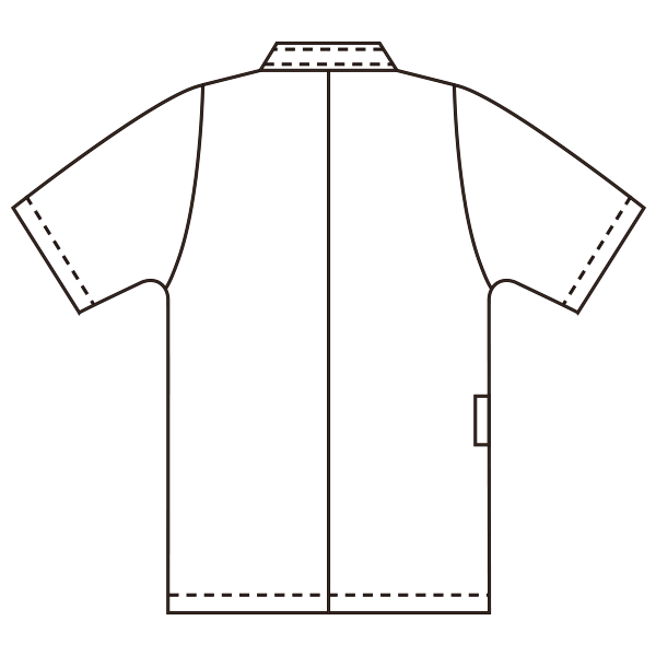 YW52 バックスタイルイラスト