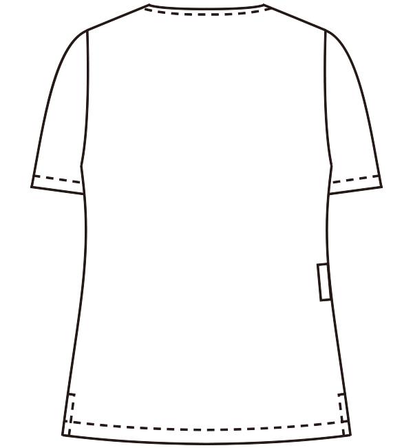 YW72 バックスタイルイラスト
