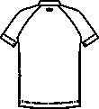 CIS300-C/28 メンズジャケット半袖バックスタイル