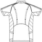 SMS113 アディダスメンズスクラブ半袖バックスタイル