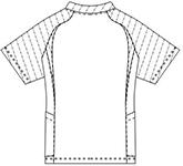 SMS122 アディダスメンズスクラブ半袖バックスタイル