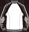ルコックスポルティフ男女兼用ジャケット長袖サイズ表