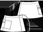 LE-UZL7024 バックスタイルイラスト