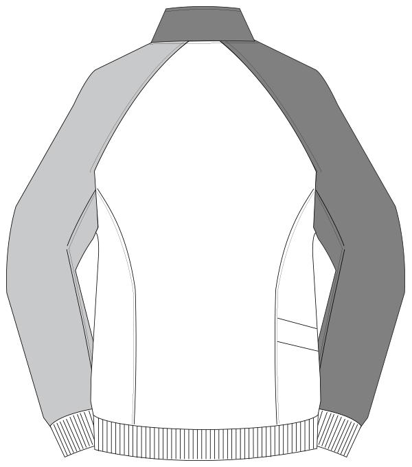 UZL1041 バックスタイルイラスト