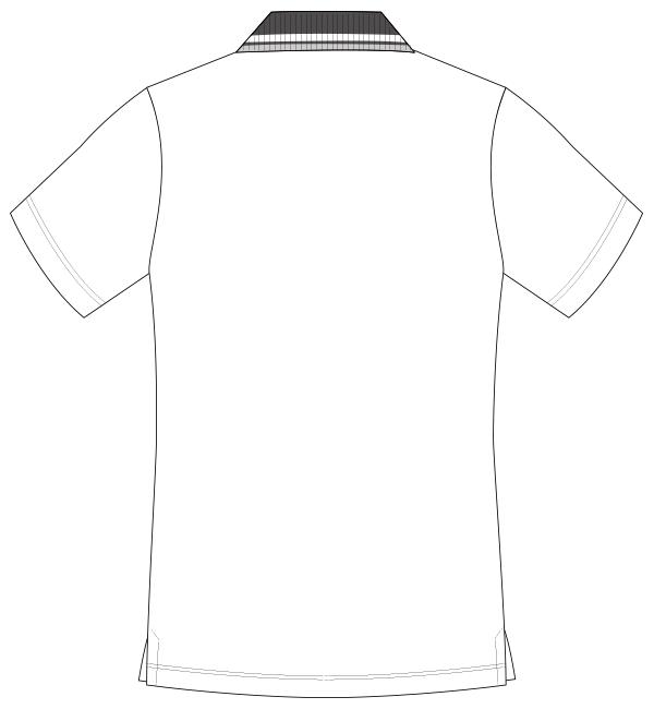UZL3011 バックスタイルイラスト