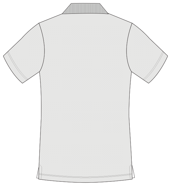 UZL3013 バックスタイルイラスト