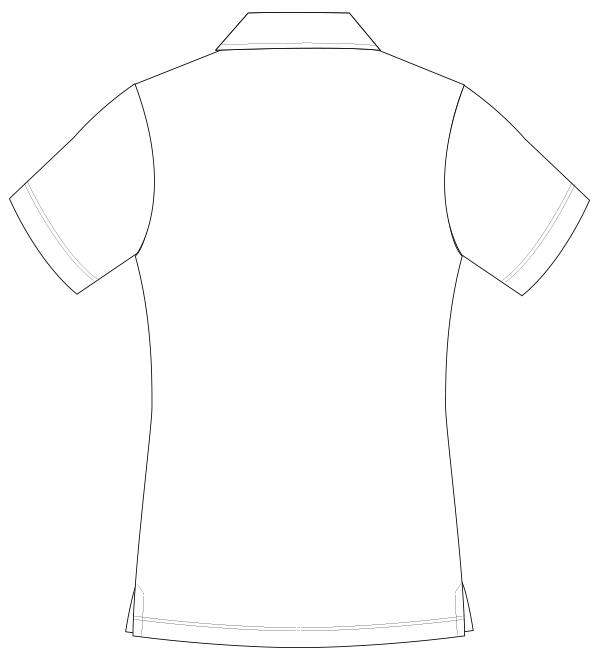 UZL3020 バックスタイルイラスト