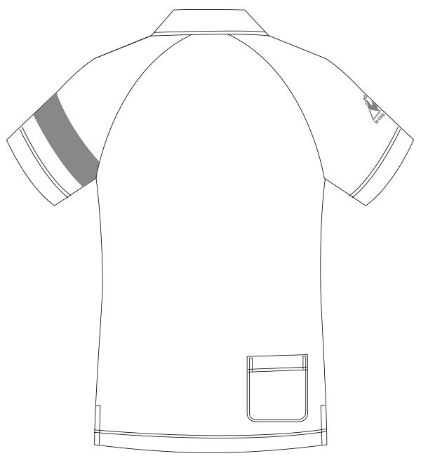 UZL3041 バックスタイルイラスト