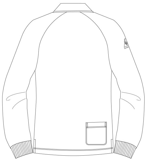 UZL3053 バックスタイルイラスト