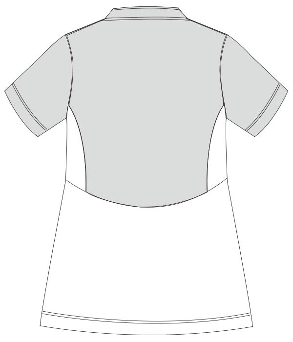 UZL3063 バックスタイルイラスト