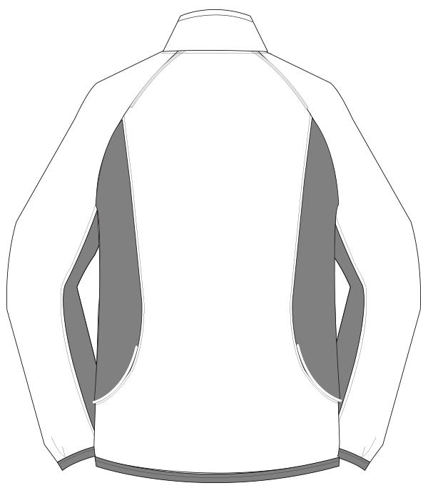 UZL5011 バックスタイルイラスト