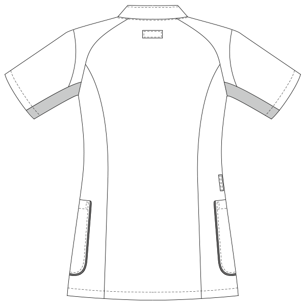 UQM1103 バックスタイルイラスト