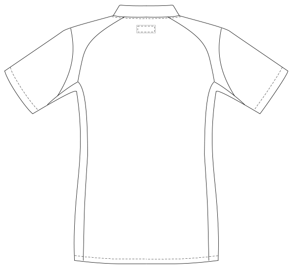 UQM1530 バックスタイルイラスト
